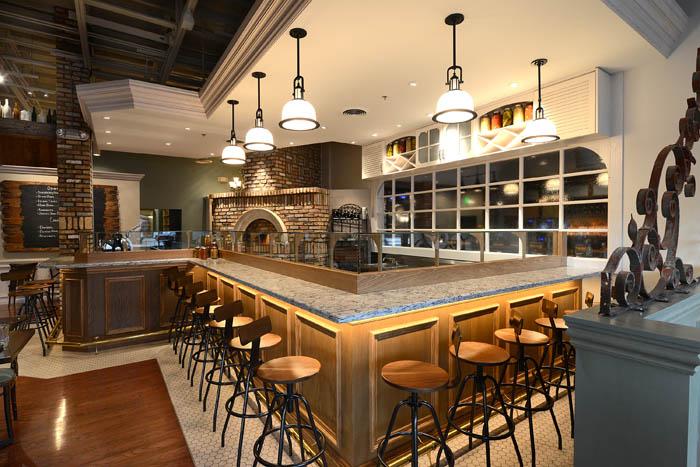 Cask & Larder Oyster Bar Photo credit: Schmidt Design Studio.