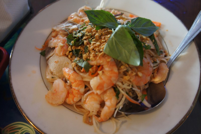 Shrimp Papaya Salad - Goi Tom