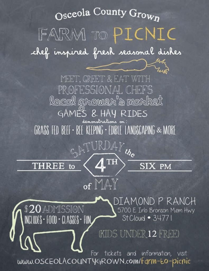 Farm to Picnic may 4
