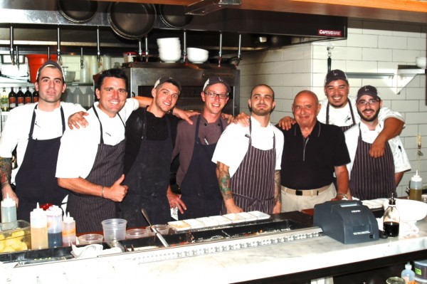 The team at Prato with Chef Bocuse