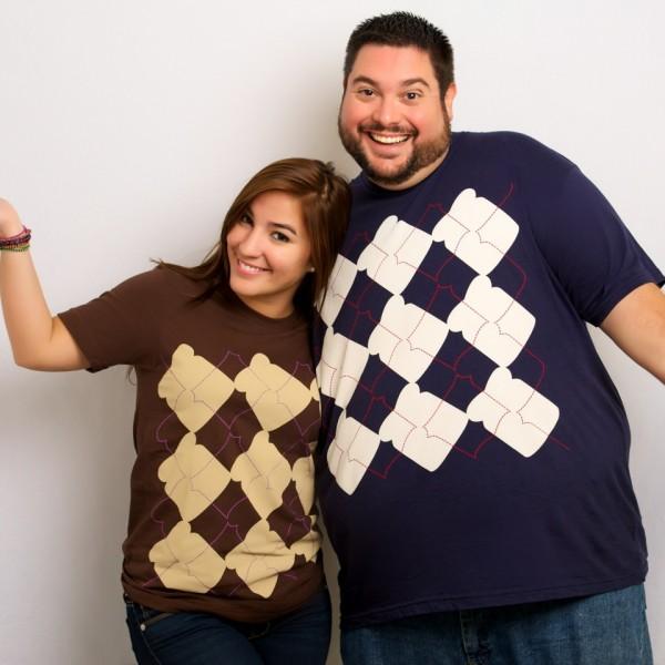 Argyle Shirt PBJ and Traditional