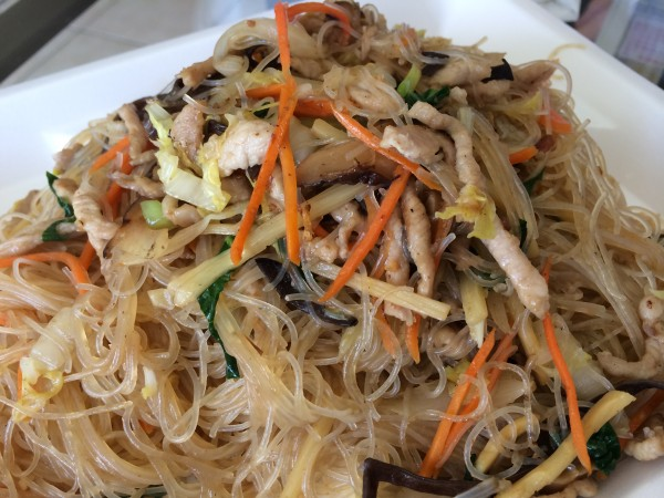 Taiwanese stir fried noodles with pork
