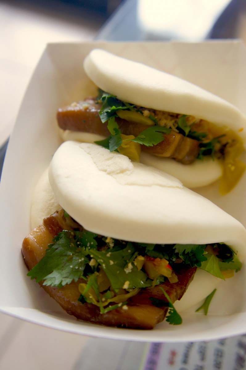 Gua bao pork buns