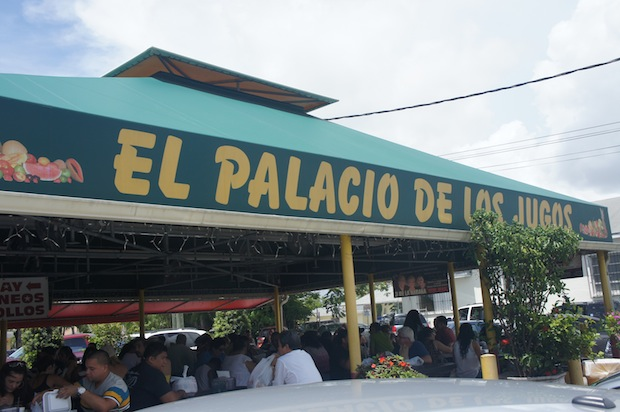 El Palacio de Los Jugos in Little Havana, Miami