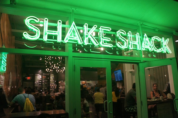 Danny Meyer's award winning NYC Burger Chain -  Shake Shack