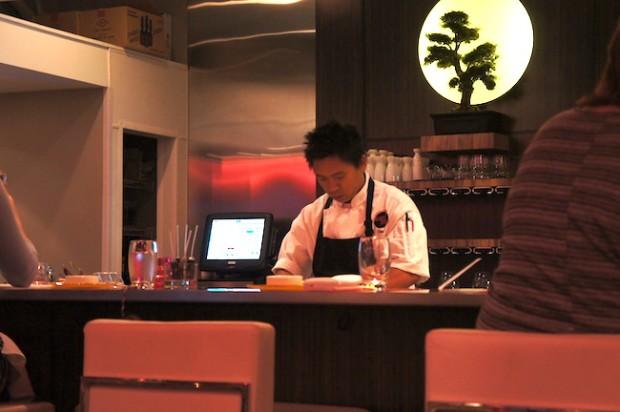 Chef Chau Trinh of Sushi Pop