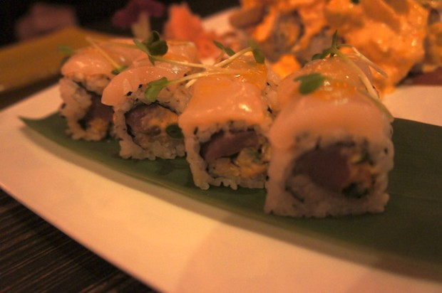 Sushi Pop's ceviche roll