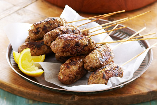 Easy Beef Kofta Kebabs for Katie's Cucina's Baby Shower! | Tasty ...