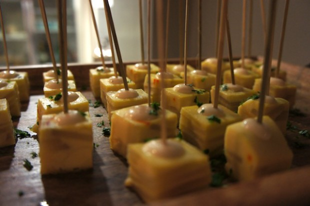 Tortilla Espanola or the Spanish Omelette, a favorite tapas of the region