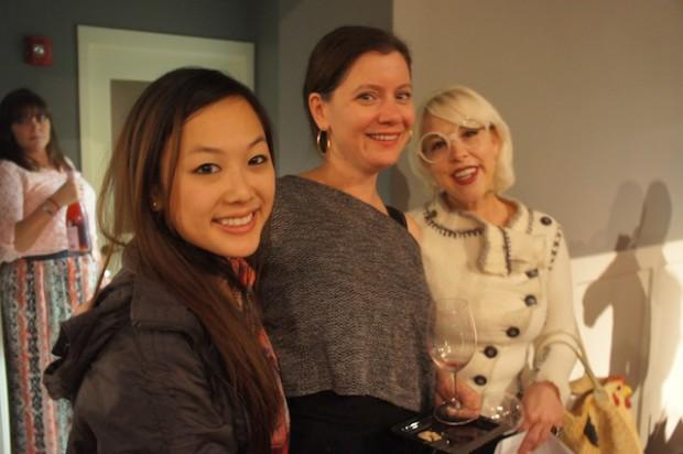 Krystle Nguyen with Kendra Lott and Emily Ellyn