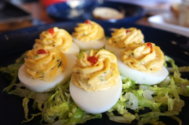 The Coop's Deviled Eggs