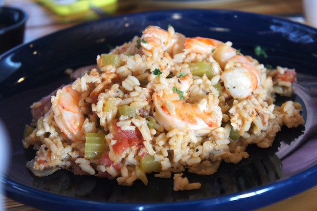 Charleston Shrimp Perloo - a rice dish from the Carolinas