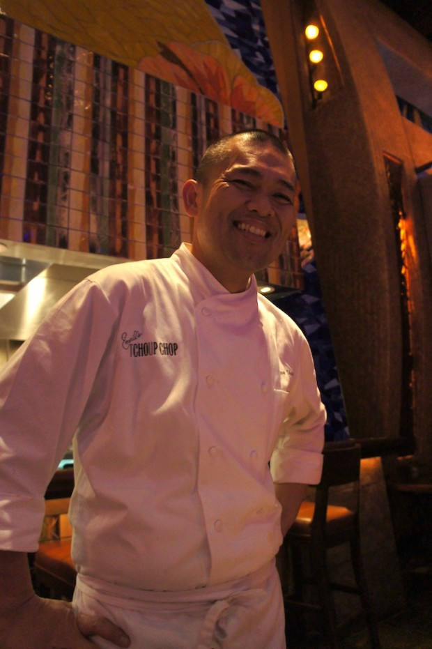 Emeril's Tchoup-chop Chef de cuisine Ryan Vargas