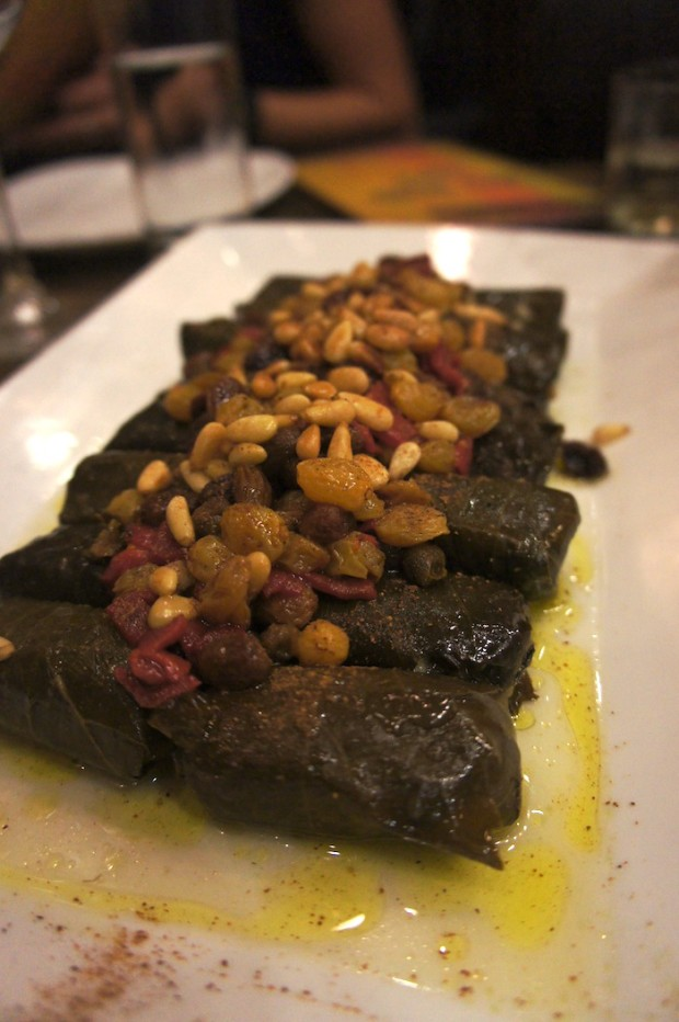 Rice stuffed Grape Leaves