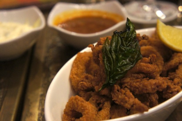 Fried Calamari at Spice Road Table