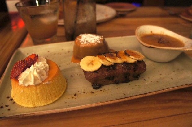 Desserts at Antojitos