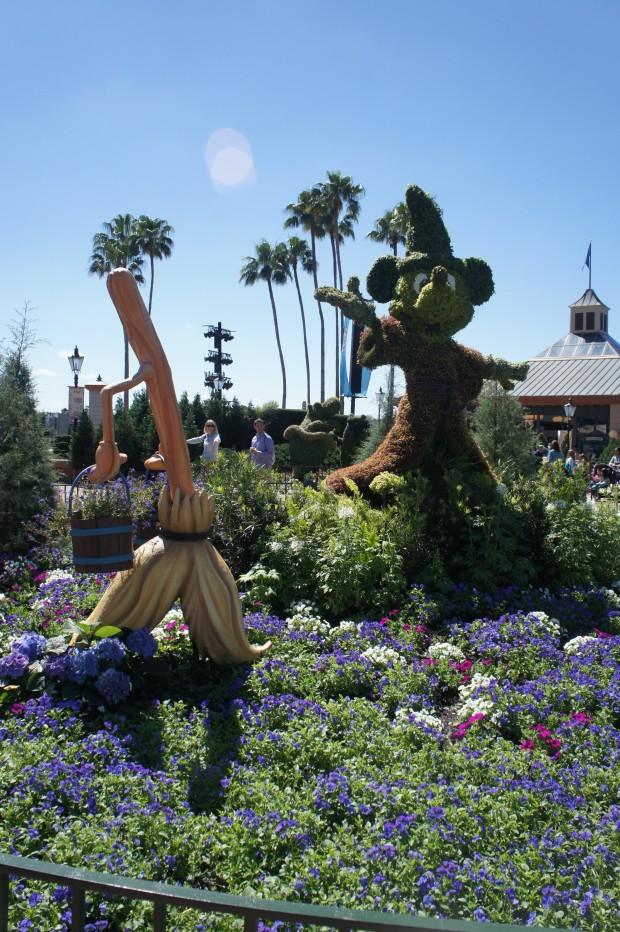 Mickey Mouse a la Fantasia