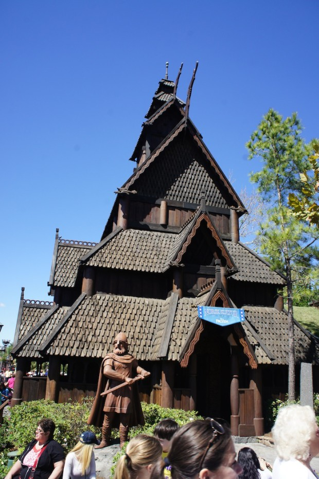Epcot Norway pavilion updated with Disney's Frozen artifacts and tie-ins