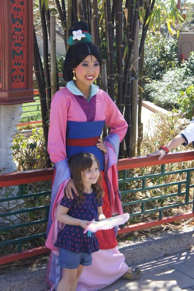 Mulan at China Pavilion