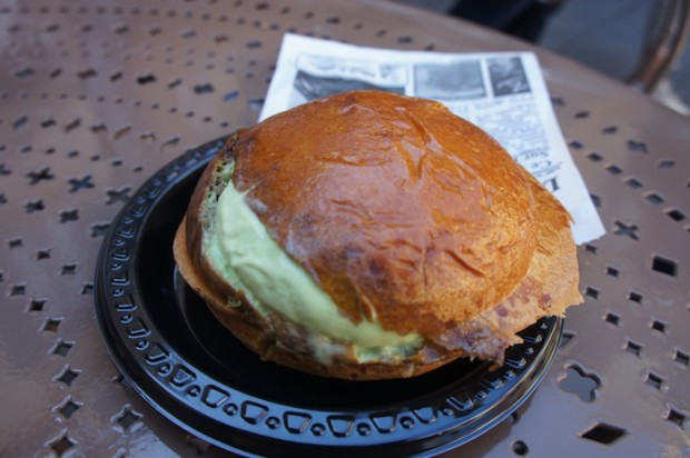 Croque Glace at Les Artisans des Glace - must try their macaron ice cream sandwich next time!