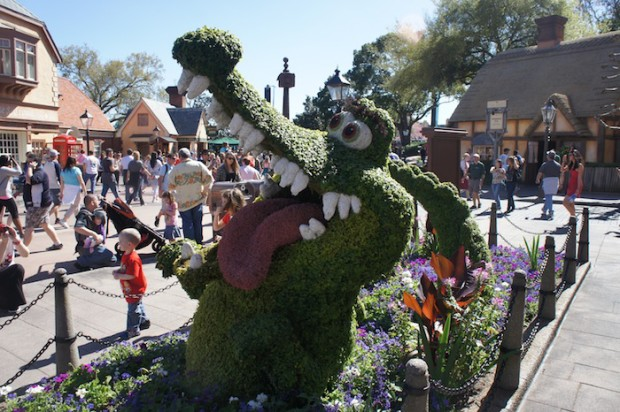 The Crocodile from Peter Pan