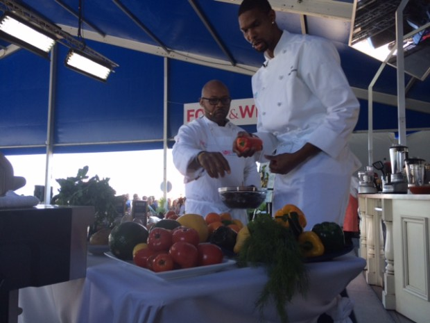Dena Marino Kitchen Heat Chris Bosh