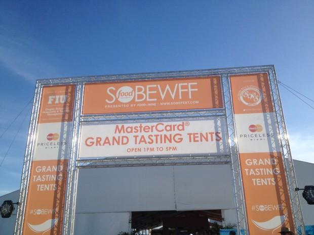 Grand Tasting Tent 1