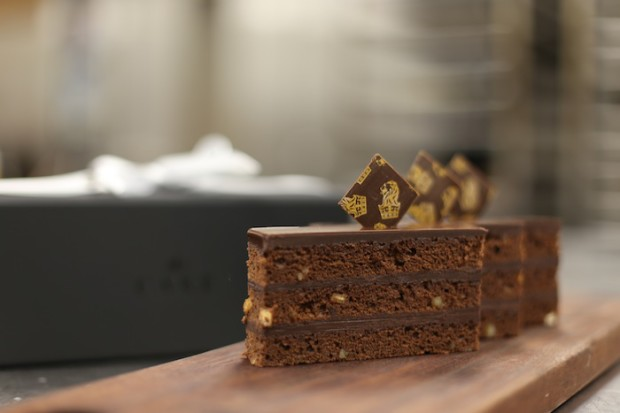 The Cake - a new signature Ritz-Carlton dessert unveiled this year