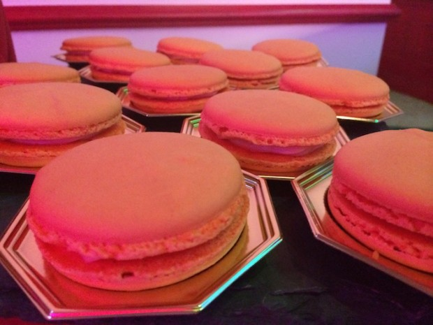 Orange Macarons from France