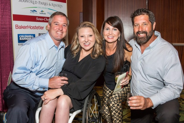 Jason Shelfer, Jana Shelfer, Laura Batten, Greg Batten enjoy Appetite for the Arches