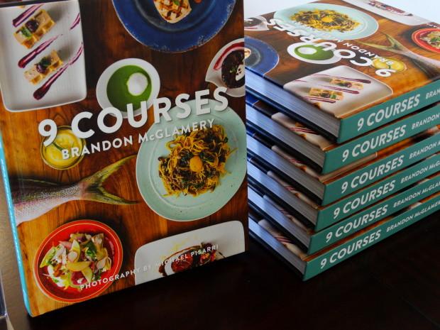 Brandon McGlamery's book 9 Courses