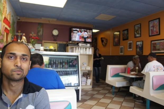 Interior of El Pueblo