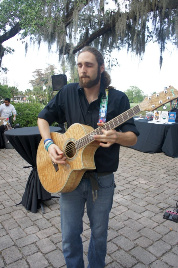 Guitarist at Taste of College Park