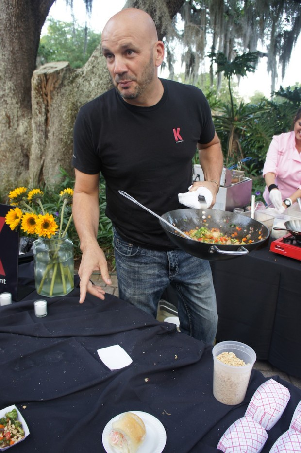 Chef Kevin Fonzo of K