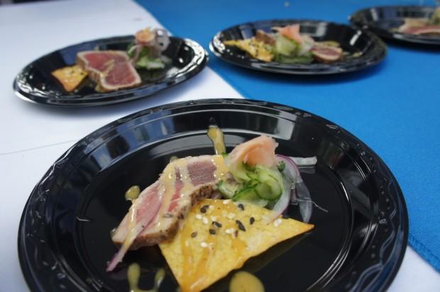 Seared ahi tuna - Mitchell's Fish Market
