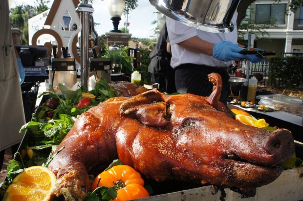 Hamilton's Kitchen at Alfond Inn - Whole Roast Pig