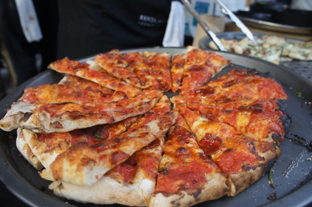 The Wine Barn - Double Diablo pizza