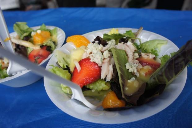 Crispers' Signature summer salad