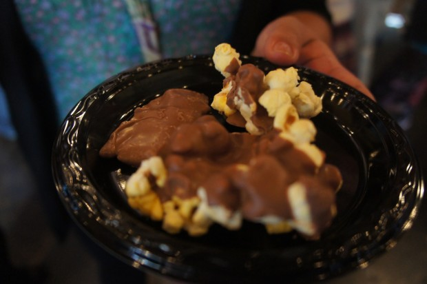 Peterbrooke Chocolatier's chocolate covered popcorn