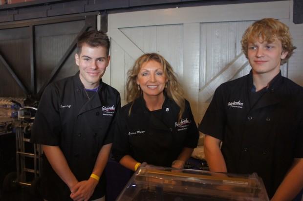 Peterbrooke Chocolatier's Jami Wray and staff