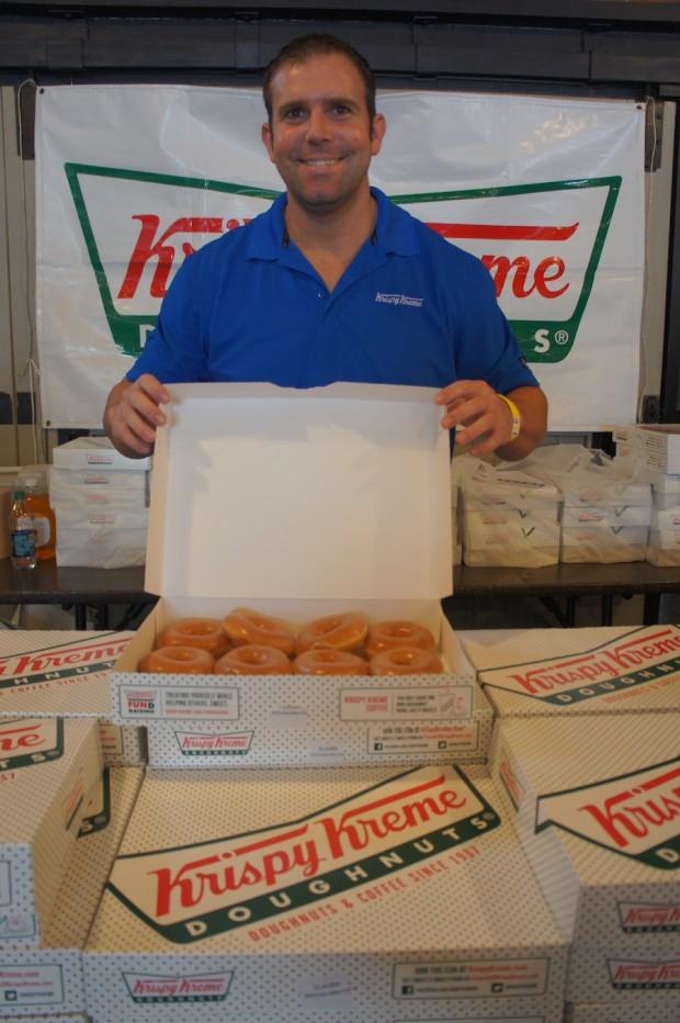 Krispy Kreme man