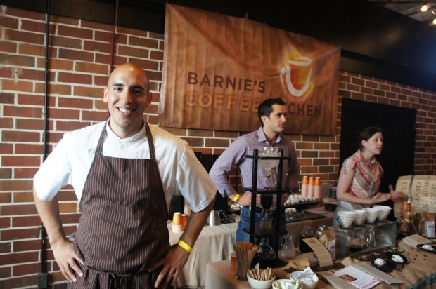 Barnie's CoffeKitchen Chef Camilo Velasco