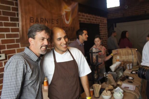 Chef Velasco with Valencia Professor Chef Kenneth Bourgoin