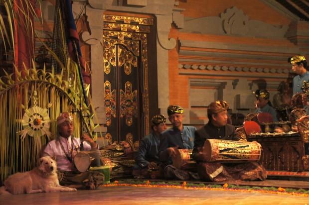 Balinese Gamela orchestra