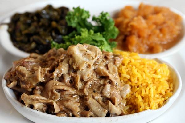 Chitterlings with Rice at Nikki's Place - Image Courtesy of OrlandoSentinel.com