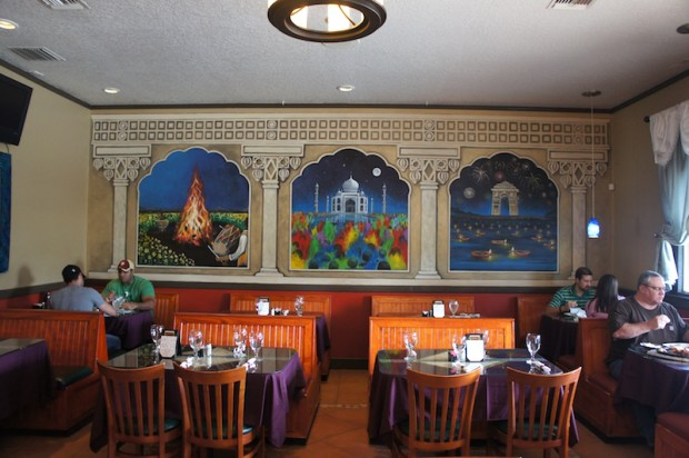 Interior of Tamarind Indian