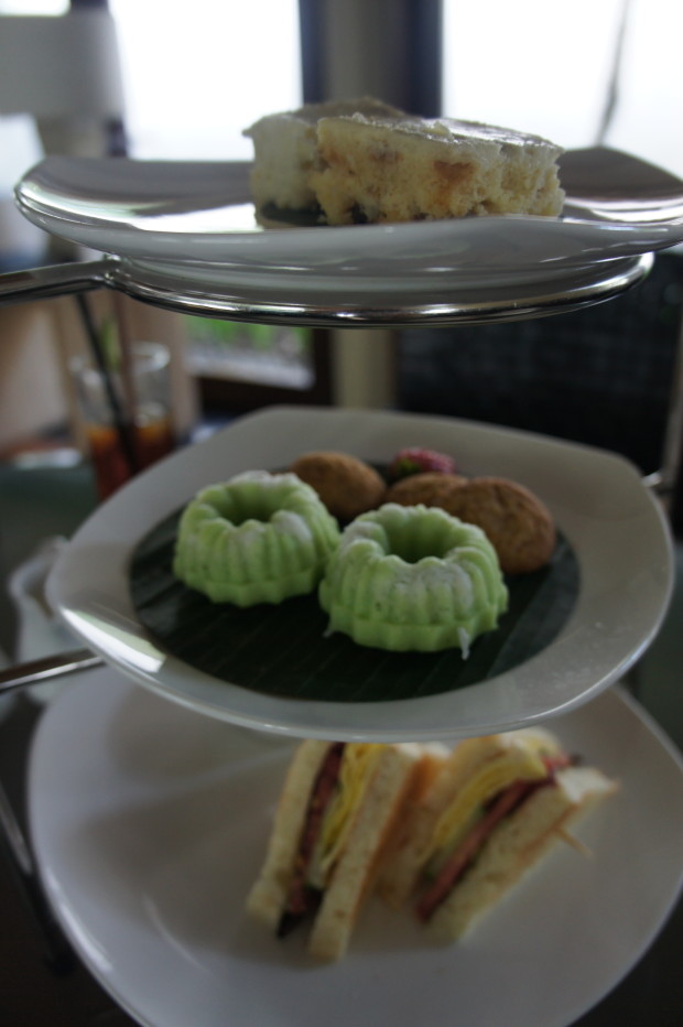 Afternoon tea at Kayumanis Villa in Nusa Dua, Bali