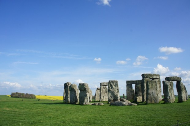 A view at Stonehenge