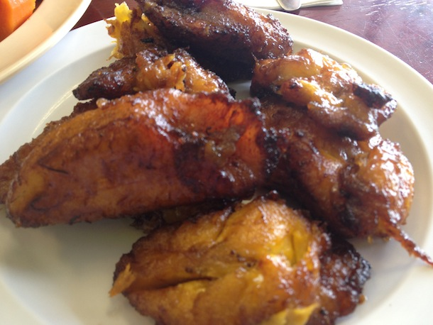 Sweet Plantains aka maduros