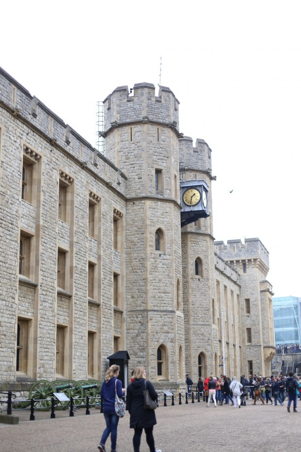 Where they keep the Crown Jewels at the Tower of London